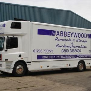 Abbeywood Removals Van Large